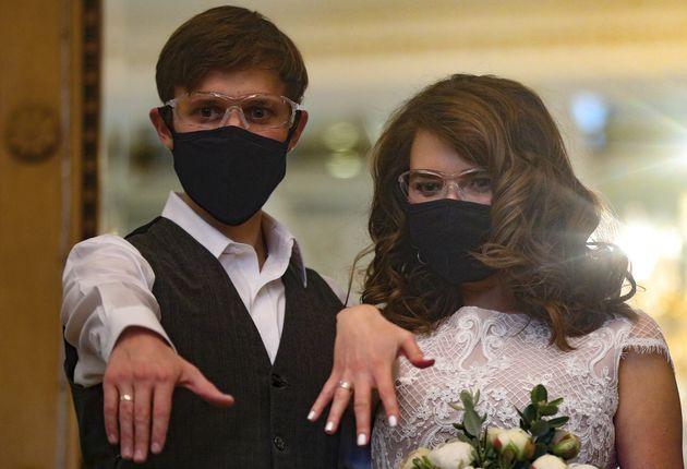 Γάμος στη Μόσχα εν μέσω