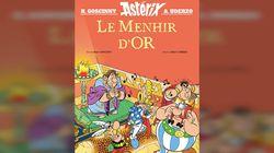 Le Menhir d'or: un nouvel album d'Astérix signé Goscinny et