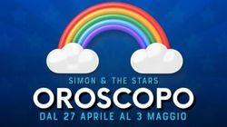 Oroscopo di Simon and the Stars: la settimana dal 27 aprile al 3