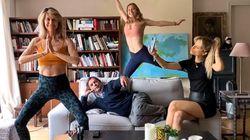 Ce photographe organise à distance des photos de familles