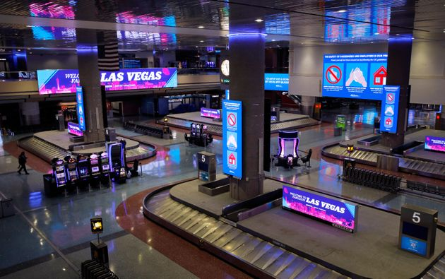 Electric signs that usually advertise casinos and other entertainment now give tips on preventing the...