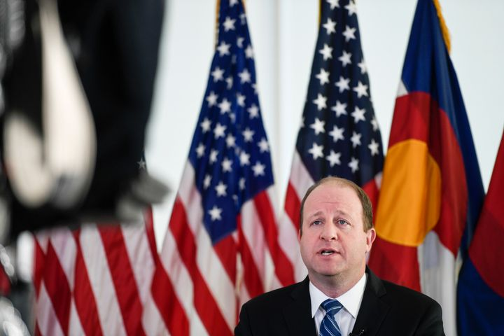 "Colorado Gov. Jared Polis (D) called the commitments in the pact a ""multifaceted and bold approach."""