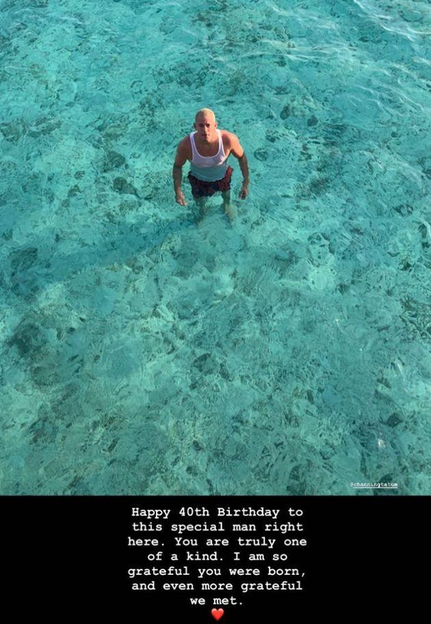 Channing Tatum Gets 'Special' Birthday Message From Ex-Girlfriend Jessie