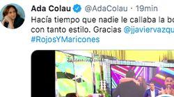 Ada Colau alaba a Jorge Javier Vázquez por lo que ha hecho en