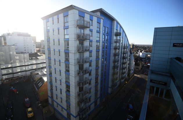Barratt Developments has temporarily stopped remediation work on the Citiscape building in
