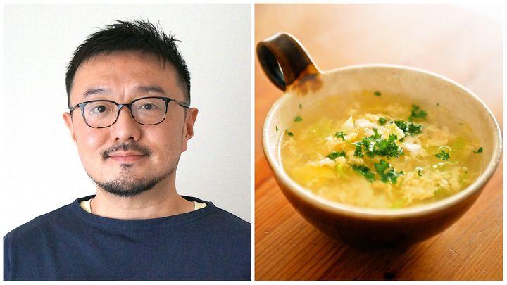 フードライターの白央篤司さんと春キャベツのスープ