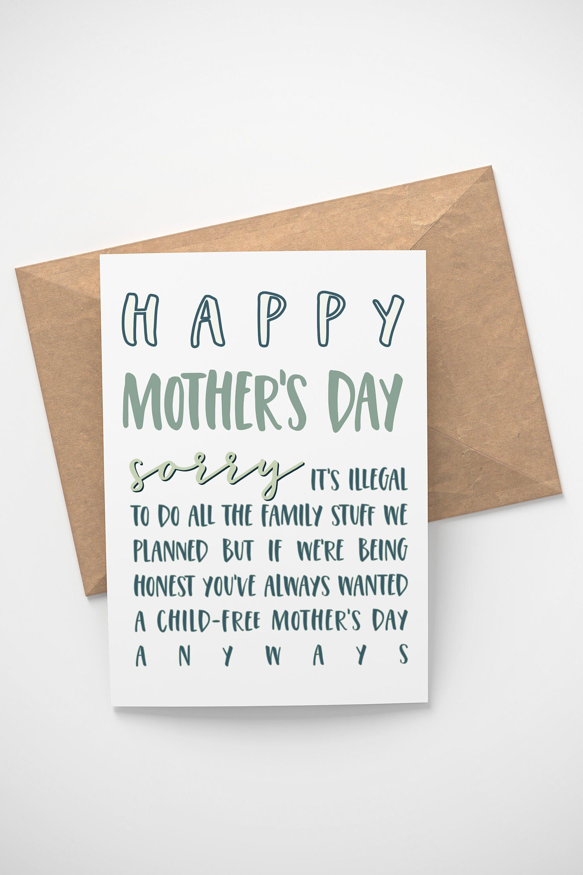 Roll Safe Meme Card Funny Happy Mothers Day Card RS Meme Card for mothers day