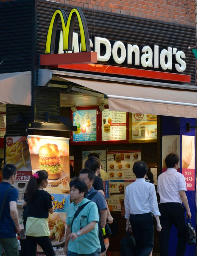 飲食 マクドナルド 店内