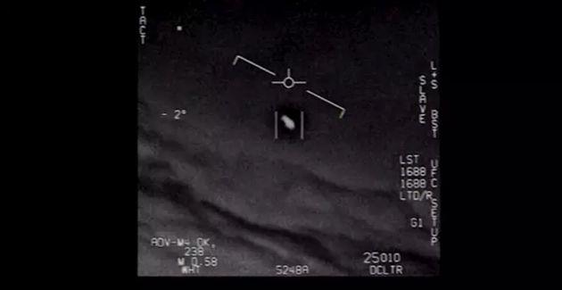 Una de las imágenes que pueden verse en los vídeos publicados por el Pentágono que muestran