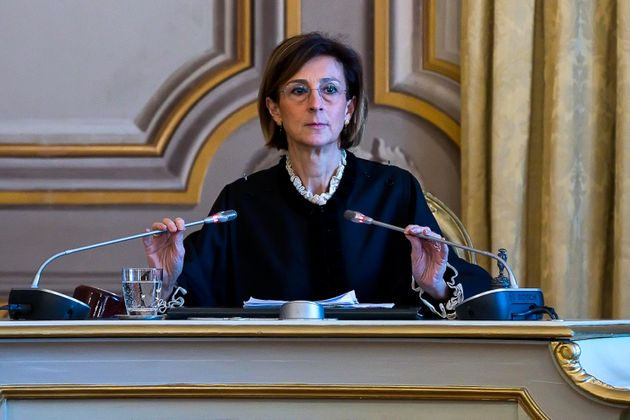 Marta Cartabia, presidente della Corte