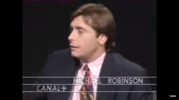 Así fue el debut de Michael Robinson en 'El Día