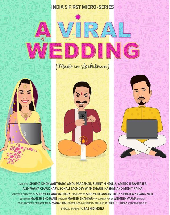 A poster of 'A Viral Wedding'