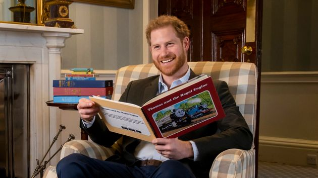 Prince Harry Makes Celebratory Cameo In Thomas The Tank Engine Episode