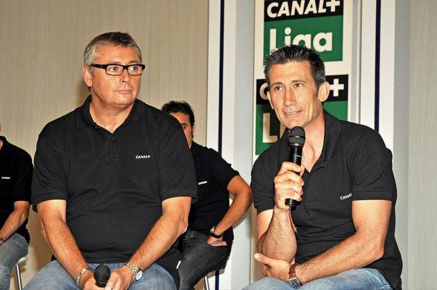 Carlos Martínez y Michael Robinson, el 27 de agosto de