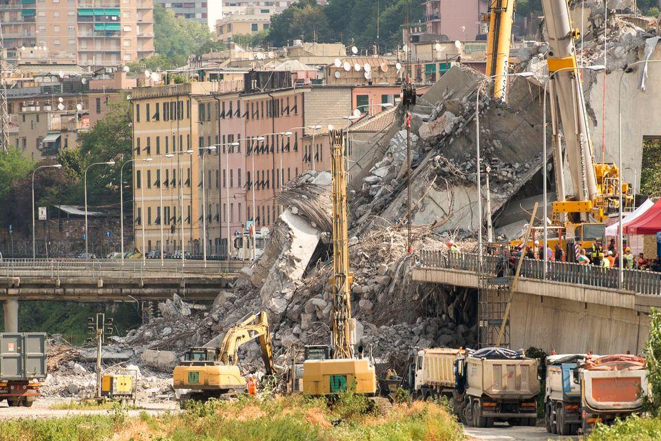 Ponte Genova: ricostruire si