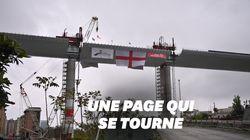 Vingt mois après le drame, le pont effondré de Gênes est