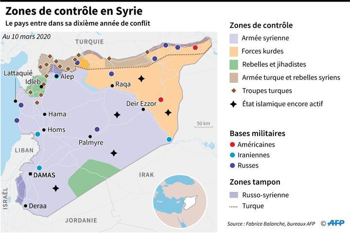Déclenché en 2011 par la répression de manifestations pro-démocratie, le conflit en Syrie a fait plus de 380 000 morts.