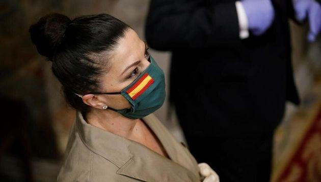 Macarena Olona, en el Congreso de los