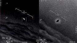 """El Pentágono publica tres vídeos de """"fenómenos aéreos no"""