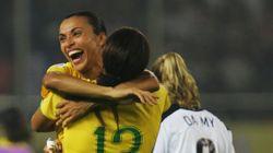 Globo vai exibir partida histórica de 2007 com goleada de Marta contra os