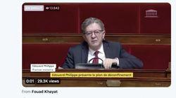 Les réactions de Mélenchon au discours de Philippe ne sont pas passées
