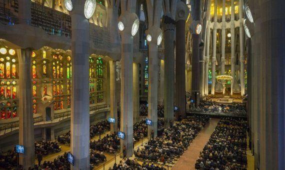 Misa en la Sagrada