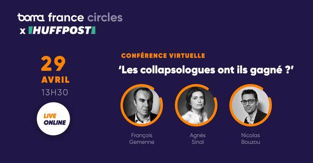 La crise du coronaviruset ses conséquences donnent-elles raison aux adeptes et théoriciens de l'effondrement ? C'est le débat de notre conférence en partenariat avec Boma France ce mercredi 29 avril.