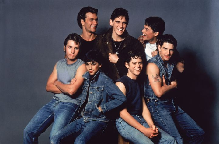 """The cast of 1983's """"The Outsiders,"""" directed by Francis Ford Coppola, turned out to be truly star-studded. Top row, left to r"""