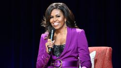 A turnê de lançamento da biografia de Michelle Obama virou filme da