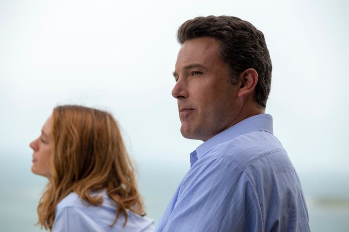 """Anne Hathaway and Ben Affleck in """"The Last Thing He Wanted."""""""