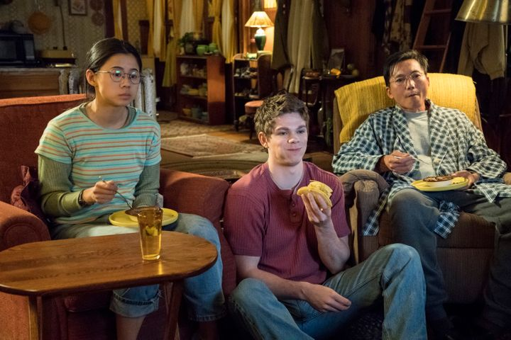 """From left:""""The Half of It"""" starsLeah Lewis, Daniel Diemer and Collin Chou. The movie hits Netflix on Friday."""