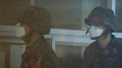 군 간부가 장병용 마스크 2,100장을 빼돌려
