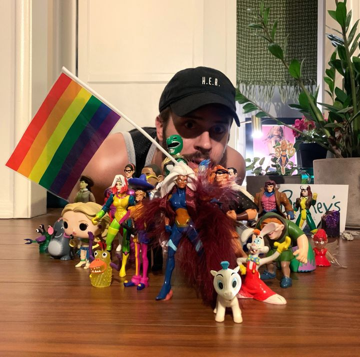 """Using his toy collection to reimagine Sam Smith and Demi Lovato's new video """"made me feel like a kid again,"""" said director Ja"""