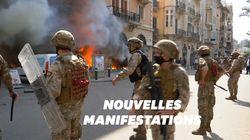 Au Liban, les manifestants s'en prennent aux