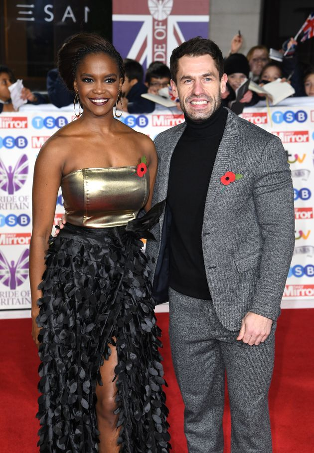 2019 Strictly champs Oti Mabuse and Kelvin