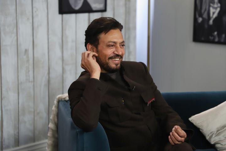 Irrfan Khan in a file photo.