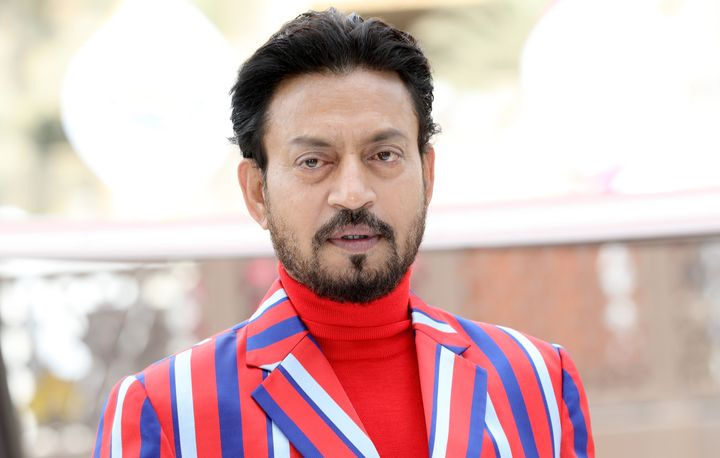 Irrfan Khan at Dubai International Film Festival in 2017.