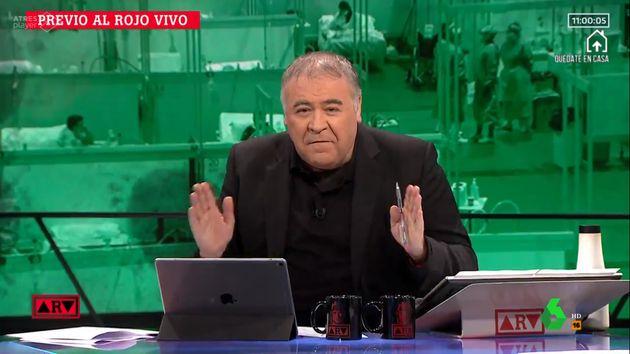 Antonio García Ferreras en 'Al Rojo