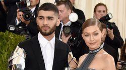 Gigi Hadid et Zayn Malik attendraient leur premier