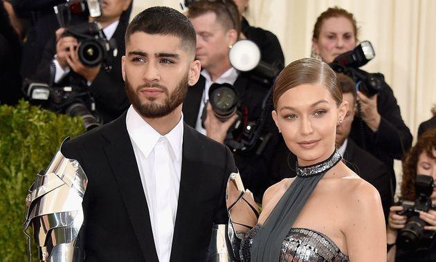 Zayn Malik et Gigi Hadid, sur le tapis rouge du gala du Met en