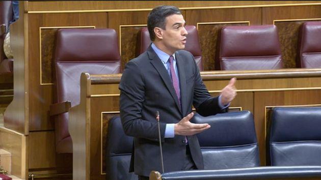 Pedro Sánchez, el 29 de abril de 2020 en el