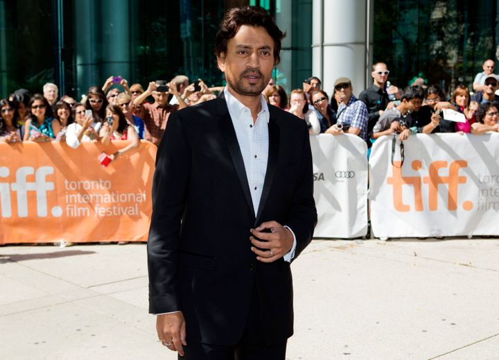 Irrfan Khan at the screening of The Lunchbox at the 38th Toronto International Film Festival September 8, 2013.