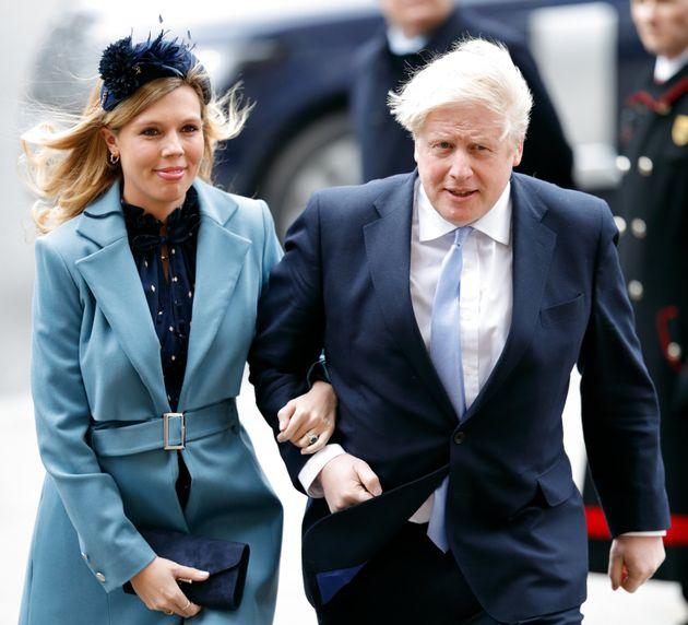Carrie Symonds y Boris