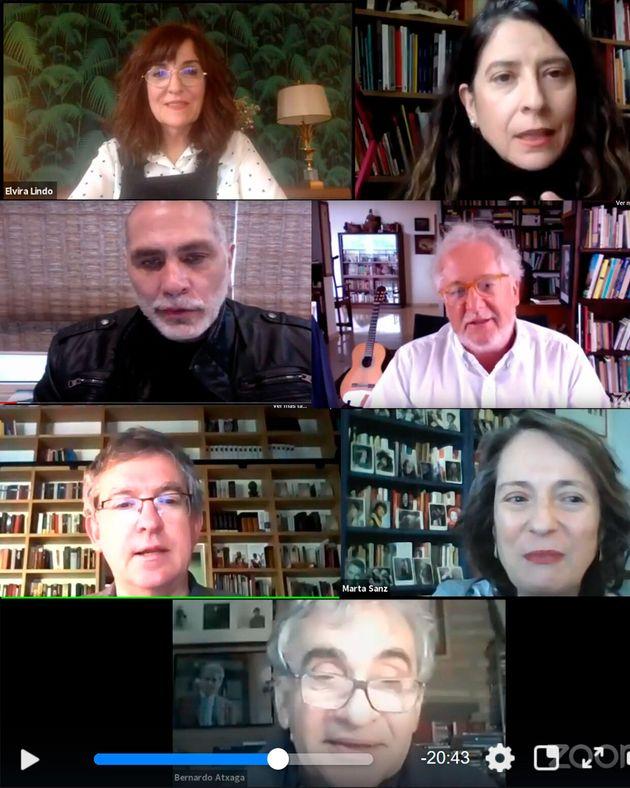 Sanz, Posteguillo, Merino, Lindo, Atxaga, Arriaga y Abad dan claves de sus últimos libros en diálogos