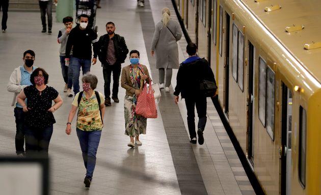 Le port du masque est obligatoire à Berlin dans les transports et