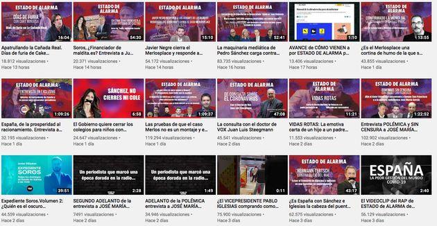 Canal de YouTube de 'Estado de