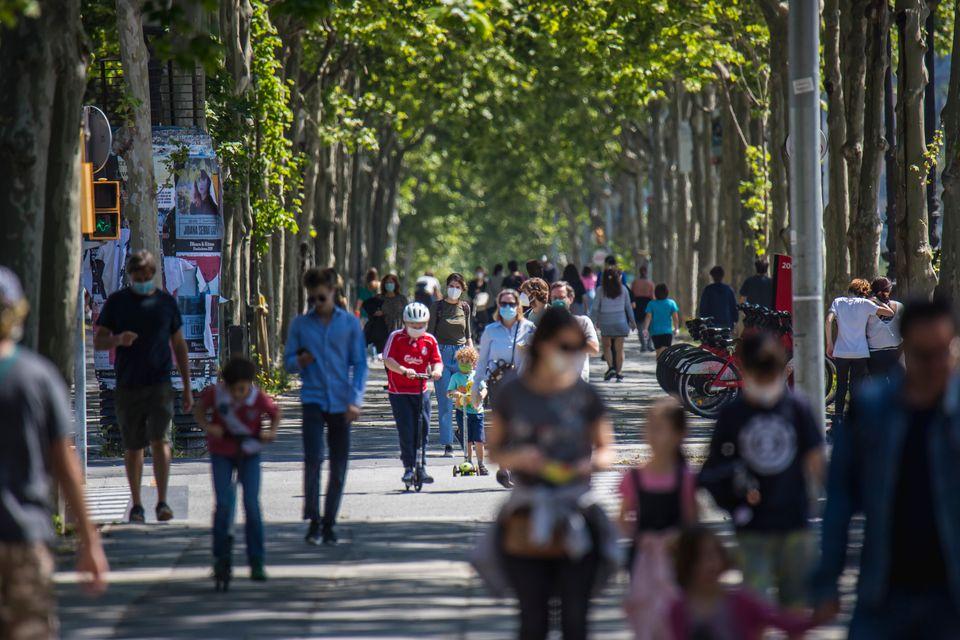 Βαρκελώνη, στις 26 Απριλίου....