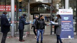 La région a distribué 500.000 masques dans les gares
