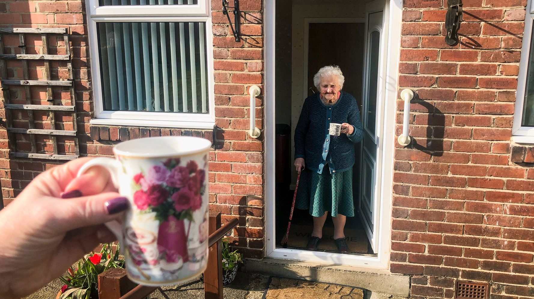 Is It Okay To Visit Loved Ones In The Garden Or Front Drive?