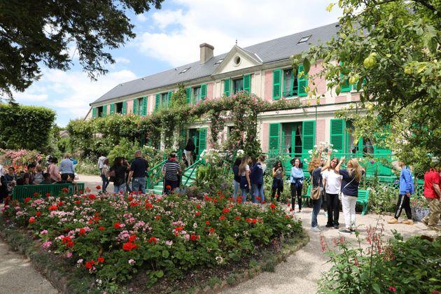 La maison de Claude Monet à Giverny est-elle considérée comme l'un des
